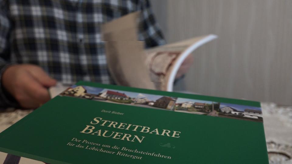 """Buchprojekt """"Streitbare Bauern - Der Löbichauer Fronstreit"""", Gunter Auer"""